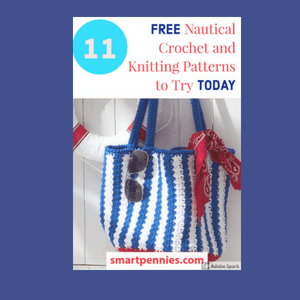 Nautical inspired knitting and crochet design ideas