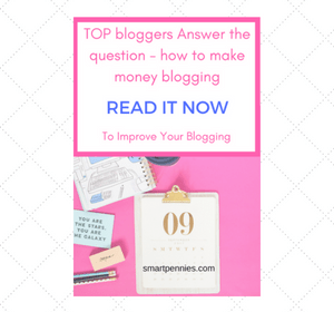 top bloggers answer how they make money wiith their blog