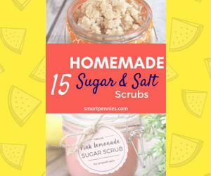 15 diy sugar and salt scrubs