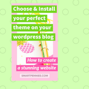 create a stunning website choose and install your perfect theme