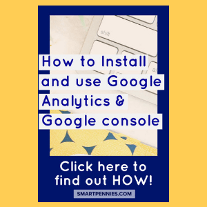 How to Install and use Google Analytics & Google console for those new bloggers how don't have a clue and need some help with the installation and also what the heck google analytics and google console are used for then you need to check out this post.